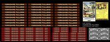 YORKSHIRE PULLMAN - 12 COACH HEADBOARD, ROOF BOARDS SET HORNBY LHP HD039