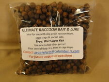 Raccoon Bait & Lure For LilGrizz Traps, Dog Proof Traps, Cage Traps