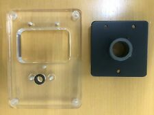 PLEXI GLASS ARMBOARD INCL. METAL SUPPORT FOR THORENS TD 320 PHANTASIE