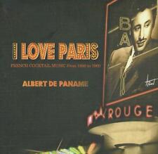 DOUBLE (2) CD album - DJ ALBERT PANAME - I LOVE PARIS COCTAIL MUSIC digipack