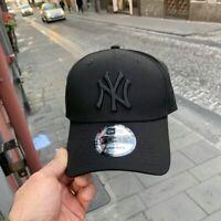 CAPPELLO NEW ERA New York Yankees tg Unica Regolabile Tela Total Black