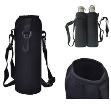 750ML Water Bottle Heat-insulated Cover Holder Carrier Bag Shoulder Strap Case