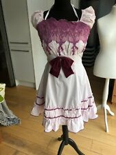 Pale Pink And Purple Fifties Style Party Dress Cos Play Size 8/10