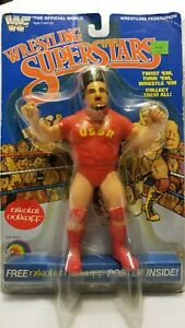 WWF LJN Wrestling Superstars Nikolai Volkoff - MOC - Encased