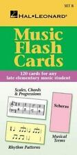 HAL LEONARD MUSIC FLASH CARDS SET B - MUSIC FLASH CARDS 296035