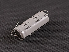 Illinois Capacitor 4700uF mfd 16V +85ºC Axial Electrolytic Capacitor Qty. 1