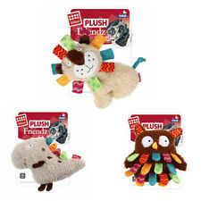 GiGwi Design-Plush Friendz Canvas Squeaker Cute Animals Toys for Pet Dog Puppy