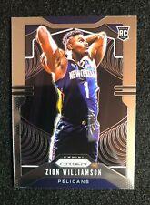 Zion Williamson 2019-20 Panini Prizm RC #248 Rookie READ