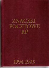 Polen Polska Jahrgang 1994 + 1995 ** Mit Muster Marken in Fischer Album Yearset