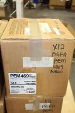 """CASE OF 12 NEW BASF PEM 469 AGFA 1/2"""" X 2500FT REEL TO REEL TAPES"""
