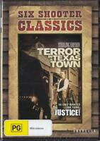 TERROR IN A TEXAS TOWN - REGION 4 NEW & SEALED DVD- FREE LOCAL POST