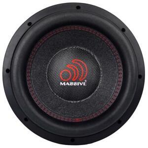 "Massive Audio KILOX 104 2000 Watt 10"" Dual 4 Ohm Car Audio Subwoofer New KILO"