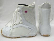 WOMEN'S SPICE SD SNOWBOARD BOOTS (WHITE/PINK HEARTS) US-11