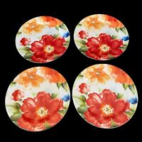 "Pier 1 Imports Ironstone Amelia Set of 4 Dinner Plates 11"" plate"