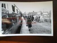 PHOTO  GRASSINGTON RAILWAY STATION - DALESMAN SPECIAL LOCO 4/5/63