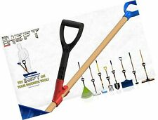 The Heft Plus Secondary Back Saver Handle for Snow Shovels & Garden Tools