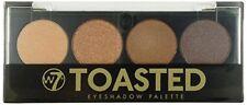 W7 New Four Eyeshadow / Eye Shadow Palette ~ Toasted ~ Brown / Caramel Shades