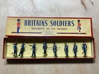 Britains Soldiers Us Air Corps 1949 Uniform With Officers No.2044
