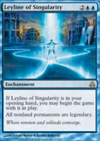 Leyline of Singularity - Foil - Guildpact - LP, English MTG Magic FLAT RATE SHIP