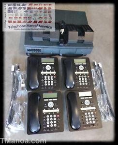 Avaya IP Office 500V2 7.0(36) 4X8 + 4 1408 Phones Standard Mode Phone System