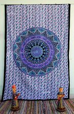 Indian Mandala Bedspread Tapestry Wall Hanging Hippie bohemian Ethnic auction