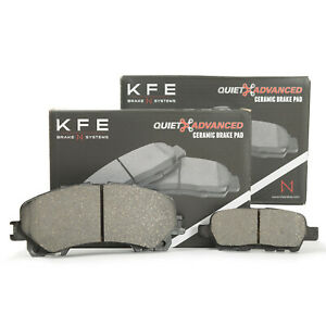 For Nissan Rouge w 3rd Row Seating FRONT REAR Ceramic Disc Brake Pad KFE1736 905