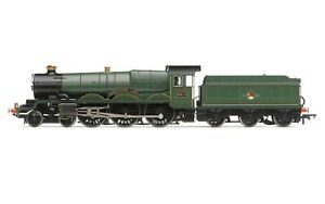 """Hornby R3619 BR (Late) Castle Class """"Abergavenny Castle"""" No.5013 DCC Ready NEW"""