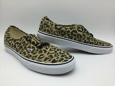 "Vans Men/Women's Shoes ""Authentic"" --(Vans Doren) Leopard/Black"