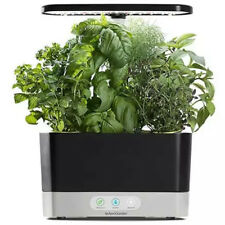 MiracleGro AeroGarden Harvest with Gourmet Herbs Seed 6 Pod Kit - Black