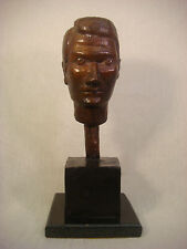 BRONZE AFTER DIEGO GIACOMETTI SCULPTURE MAN HEAD 9/9 LE SIGNED NUMBERED