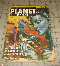 PLANET STORIES Vol V #2 (Sept 1951) Pulp, SciFi MAGAZINE, Parkhurst Cover ??