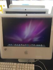 "Apple iMac 17""  All In One A208 Core 2 Duo 2.0GHz 2GB160GB OSX 10.6.8,upgradable"