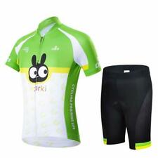 Children Youth Cycling Jersey Set 2019 Trousers short Sleeve Upholstery