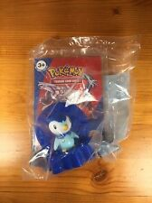 BURGER KING Pokemon 2008 Nintendo Piplup Blue Card Holder Figure