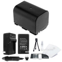 BP-522 Battery + Charger + BONUS for Canon Optura 10 20 100MC 50MC Pi Xi
