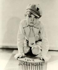 Dickie Moore UNSIGNED photo - B3194 - Blonde Venus, Sergeant York & Oliver Twist