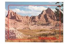 Badlands National Park South Dakota Vintage 4x6 Postcard, Jul17