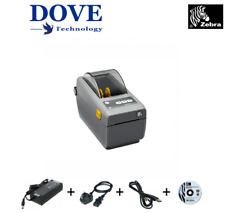 ZD410 Direct Thermal Printer, 203 dpi, USB, USB Host, BTLE, WLAN, Bluetooth v4.1