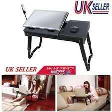 Adjustable Portable Folding Laptop Desk Computer Table Stand Tray for Bed Sofa