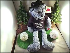 2005 WORKING CHANTILLY LANE SENIOR MOMENTS BEAR - BEATLES WHEN I'M 64 W/TAGS