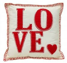 Red Love Cushion - Children's Gifts & Decor Cute Decorative Heart Pillow
