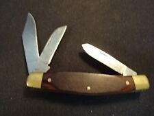 Old Vtg Craftsman 95234 Three Blade Folding Pocket Knife Made In USA