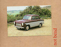 1960 Ford 107E prefect car unposted colour card Old Ford Classic Car