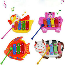 Kids Baby Musical Educational Animal Developmental Music 4Tone Bell Toy Neu·