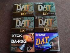 DAT Kassetten  6 Stück ungeöffnete Originalverpackung