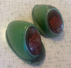Volkswagen snowflake tail lights hella lenses nice used condition complete VW
