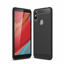 For Xiaomi Redmi S2 Carbon Gel Case Glass Screen Protector & Stylus Pen