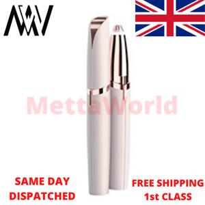 Ladies Eyebrow Shaper Trimmer Pen Electric Shaver Epilator TD UK Based Seller