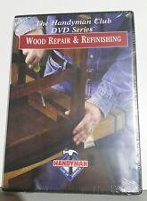 Handyman Club of America  DVD Series Wood Repair and Refinishing, New sealed