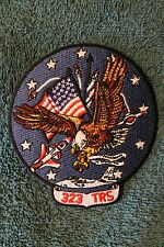 323 TRS - TRAINING SQUADRON PATCH AIR FORCE USAF Eagle Salute Military Unit USA